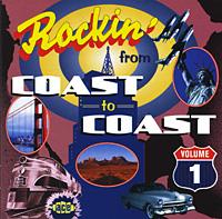 Тини Льюис,Бренда Ли,The Rio Rockers,The Raiders,Рой Кларк,Эдди Кокрэн Rockin' From Coast To Coast. Volume One the drifter