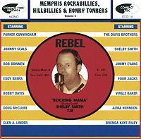 Memphis Rockabillies, Hillibillies & Honky Tonkers. Volume 3