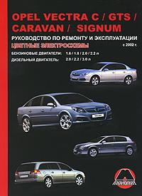 М. Е. Мирошниченко Opel Vectra С / GTS / Caravan / Signum с 2002 г.в. Руководство по ремонту и эксплуатации