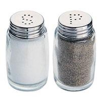 Набор Tescoma Classic: солонка и перечница. 654010654010Набор для специй Tescoma, состоящий из солонки и перечницы. Изготовлен из первоклассной нержавеющей стали и стекла. Солонка и перечница легки в использовании: стоит только перевернуть емкости, и вы с легкостью сможете поперчить или добавить соль по вкусу в любое блюдо. Дизайн, эстетичность и функциональность набора позволят ему стать достойным дополнением к кухонному инвентарю.Высота емкости: 7 см.Диаметр основания: 4 см.