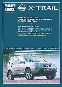Автомобиль Nissan X-Trail. Руководство по эксплуатации, техническому обслуживанию и ремонту