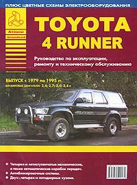 Автомобили Toyota 4 Runner. Руководство по эксплуатации, ремонту и техническому обслуживанию toyota crown crown majesta модели 1999 2004 гг выпуска toyota aristo lexus gs300 модели 1997 руководство по ремонту и техническому обслуживанию