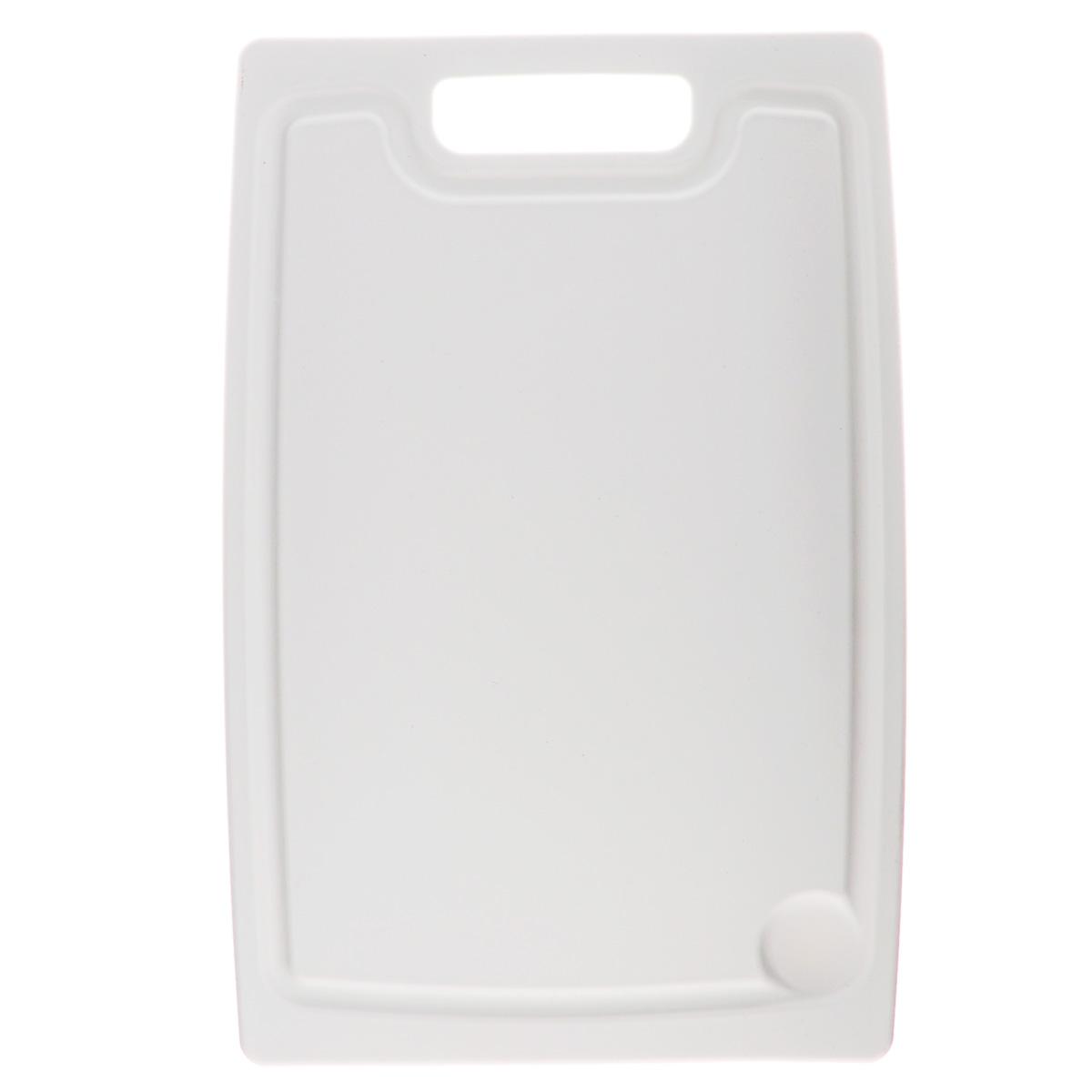 Доска разделочная Tescoma Presto, цвет: белый, 36 х 24 см378814Разделочная доска Tescoma Presto, изготовленная из высококачественногопрочного пластика, станет незаменимым атрибутом приготовления пищи. Онаидеально подходит для разделки мяса, рыбы, приготовления теста и нарезкилюбых продуктов. А особый дизайн краев с желобком способствует задерживаниюжидкостей и остатковпродуктов. Доска предназначена дляежедневного интенсивного использования.Не затупляет лезвия. Современный стильный дизайн и функциональность разделочной доски TescomaPresto, позволит занять ей достойное место на вашей кухне. Можно мыть в посудомоечной машине.
