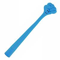 Ручка шариковая Пальчики - кулак, цвет: голубой90612Оригинальная шариковая ручка выполнена из мягкого пластика голубого цвета в виде кулака. Ручка может гнуться в разные стороны.Такая ручка станет отличным подарком и незаменимым аксессуаром, она несомненно, удивит и порадует получателя. Характеристики: Длина ручки (без колпачка): 19 см. Длина ручки (с колпачком): 19,5 см. Цвет: голубой. Материал: пластик. Артикул: 90612.