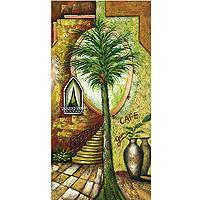Картина-репродукция без рамки Испанский дворик, 60 х 120 см 1864818648Картина-репродукция без рамки Испанский дворик дополнит интерьер любого помещения, а также может стать изысканным подарком для ваших друзей и близких. Благодаря оригинальному дизайну картина может использоваться для оформления любых интерьеров. Картина выполнена на холсте маслом по шаблону. Такая картина - вдохновляющее декоративное решение, привносящее в интерьер нотки творчества и изысканности! Характеристики: Размер: 60 см х 120 см. Материал: дерево, холст. Изготовитель: Китай. Артикул: 18648.