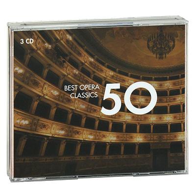 Best Opera Classics 50 (3 CD) EMI Classics,Gala Records