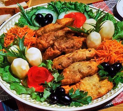 Меджитова Э.. Вкус праздничной кухни