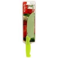 Нож кухонный Atlantis 13см 5T-G5T-GКухонный нож Atlantis всегда должен быть под рукой. Он подойдет для нарезки любых овощей, мяса, рыбы и других продуктов.Нож обработан специальным покрытием Microban. Покрытие Microban - самое надежное в мире средство для защиты от бактерий, грибков, плесени и запахов. Действует постоянно, даже после мытья, обеспечивая большую защиту ножа. Антибактериальная защита работает на протяжении всего срока службы ножа.Особенности ножа Atlantis: японская высокоуглеродистая нержавеющая стальпрочный и острый клинокбезопасное и прочное покрытие лезвия, не дающее пище прилипать к ножукрасивое сочетание цветов ручки и лезвия. Характеристики:Материал: нержавеющая сталь, пластик. Длина: 13 см. Цвет: желтый. Производитель: Китай. Артикул: 5T-G.