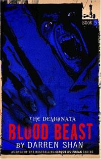 The Demonata #5: Blood Beast looking inside