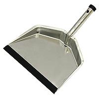 Совок стальной Fratelli Re11704-AУдобный совок, выполненный из стали, станет незаменимым помощником во время уборки. Благодаря резиновому краю грязь и мусор будет легко сметать на него. Отверстие на ручке совка позволит повесить его в любом месте. Характеристики: Материал: хромированная сталь, резина. Ширина рабочей поверхности: 23 см. Длина ручки: 11,5 см. Производитель: Италия. Артикул: 11704-А.