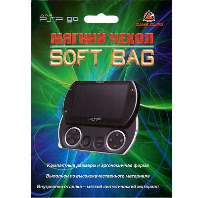 Мягкий чехол Soft Bag и ремешок для PSP Go Game Guru