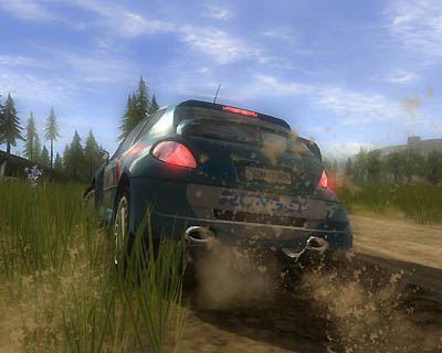 Хорошие игры.  Xpand Rally Xtreme Techland