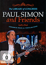 Paul Simon And Friends: Gershwin Prize For Popular Song cd диск simon paul original album classics paul simon songs from capeman hearts and bones you re the one there goes rhymin simon 5 cd