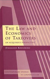 The Law and Economics of Takeovers: An Acquirer's Perspective corporate takeovers