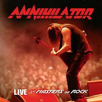 Этот концертный альбом канадских трэшеров ANNIHILATOR был записан летом 2008-го на фестивале Masters Of Rock в Чехии, и программа, запечатленная на этом диске, представляет собой набор лучших песен ANNIHILATOR за всю более чем 20-летнюю историю коллектива – от классики в лице таких номеров, как Never, Neverland, Alison Hell, W.T.Y.D., I Am In Command до песен с более поздних альбомов (Blackest Day, Shallow Grave) и композиций с последнего студийного диска группы, Metal (2007). Артем Голев