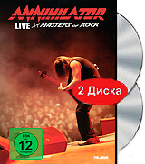 Annihilator: Live At Masters Of Rock (DVD + CD) dvd диск igor moisseiev ballet live in paris 1 dvd