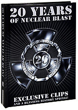 Various Artists: 20 Years Of Nuclear Blast. Digibook Edition (2 DVD) chimaira chimaira the age of hell cd dvd