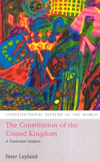 The Constitution of the United Kingdom the constitution of the united kingdom a contextual analysis