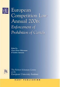 European Competition Law Annual 2006 swedish studies in european law volume 1 2006