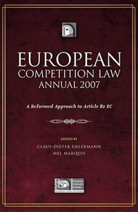 European Competition Law Annual 2007 cherniavsky a g law as the basis of interaction of state and society round table discussion number 4