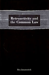 Retroactivity and the Common Law edgar iii wachenheim common stocks and common sense the strategies analyses decisions and emotions of a particularly successful value investor