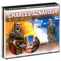Шарль Азнавур Charles Aznavour. 48 Titres Originaux (2 CD) charles aznavour tours