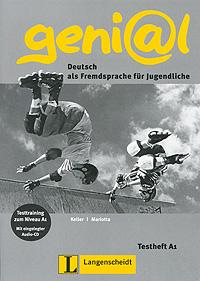 geni@l: Deutsch als Fremdsprache fur Jugendliche: Testheft A1 (+ CD-ROM) team up starter 1 test resource audio cd test maker cd rom