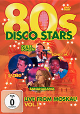 Various Artists: 80s Disco Stars Live From Moskau Vol. 1 various artists 80s disco stars live from moskau vol 1