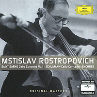 Mstislav Rostropovich. Cello Concertos. Encores (2 CD) виниловая пластинка mstislav rostropovich dvořák cello concerto