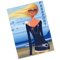 Обложка для паспорта Perfecto Гламур 3. PS-GL-0003 обложка для паспорта яркая личность ozam389