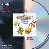 I Musici,Феликс Эйо Felix Ayo. Vivaldi. The Four Seasons нейджел кеннеди english chamber orchestra nigel kennedy vivaldi the four seasons lp