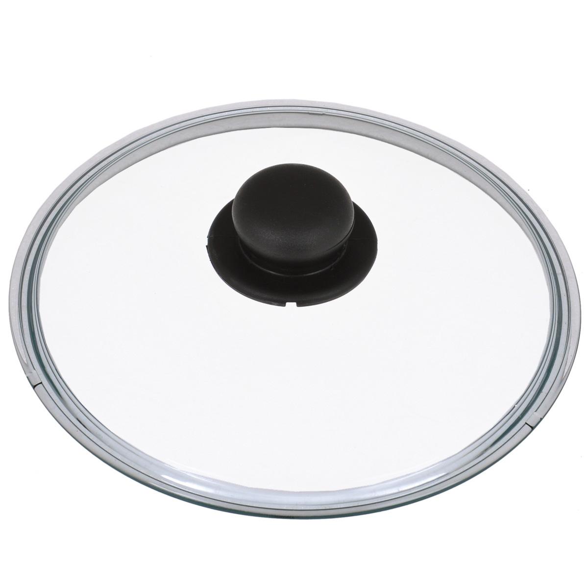 Крышка стеклянная Tescoma Unicover. Диаметр 24 см крышка tescoma unicover