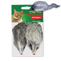 Игрушка для кошек Triol Мышь, 2 штЧ-08000Забавная мышка яркого цвета из натурального меха, не позволит скучать вашему любимцу. Играя с этой забавной игрушкой, маленькие котята развиваются физически, а взрослые кошки и коты поддерживают свой мышечный тонус. Мышка сразу привлечет внимание вашего любимца, не навредит здоровью, и увлечет его на долгое время.Характеристики: Длина мышки (без хвоста): 10 см.Материал: натуральный мех, пластик.Артикул: M004NG. Уважаемые клиенты!Обращаем ваше внимание, товар поставляется в цветовом ассортименте. Уважаемые клиенты!Обращаем ваше внимание на возможные изменения в дизайне упаковки.