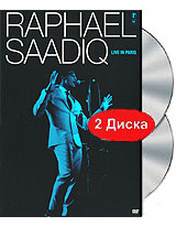 Raphael Saadiq: Live In Paris (DVD + CD) take that take that progress live 2 cd