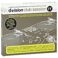 D:Vision Club Session. Vol. 11 (2 CD) музыка cd dvd dsd 1cd