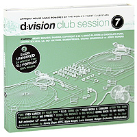 D:Vision Club Session. Vol. 7 (2 CD) house vocal session hottest club hits vol 1 2cd