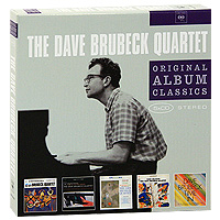 The Dave Brubeck Quartet,Dave Brubeck Quartet The Dave Brubeck Quartet. Original Album Classics (5 CD) dani yard quartet
