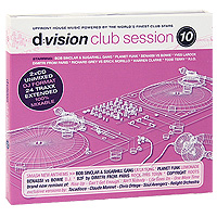 D:Vision Club Session. Vol. 10 (2 CD) house vocal session hottest club hits vol 1 2cd