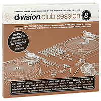 D:Vision Club Session. Vol. 8 (2 CD) house vocal session hottest club hits vol 1 2cd