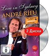 Andre Rieu: Live In Sydney / Andre Rieu In Australia (2 DVD) rieu andre magic of the waltz