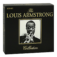 Луи Армстронг Louis Armstrong. The Louis Armstrong Collection (2 CD) elegant faux gem rhinestone flower leaf brooch for women