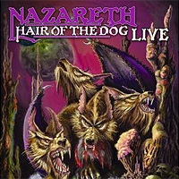 Nazareth Nazareth. Hair Of The Dog - Live (LP) han edition of the new bankcard yarn rope ribbon hair with hair hoop hair tire wholesale