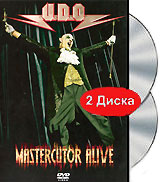 U.D.O. Mastercutor Alive (2 DVD) the mark of the midnight manzanilla