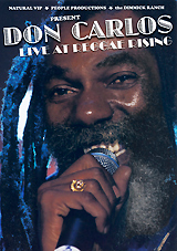 Don Carlos: Live At The Reggae Rising the girl on the train