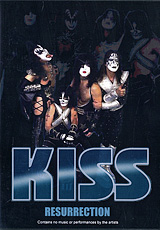 From the early 70's KISS has been the spectacle for all to see, with theirelaborate fire-breathing and blood-spitting, bombastic stage show, and larger than life persona's. In the mid eighties however, KISS removed the make-up, changed a few members, and went on stage in a different form - perhaps even losing touch with what KISS originally stood for. For years, fans hoped and prayed that someday, there would be a return of the superheros they once knew. Then, in 1996, those wishes became a reality! KISS was resurrected and came back full force with the make-up, elaborate costumes, and their trademark stage show! Here we will take you through the journey of the band's resurrection with the reunion press conference on the S. S. Intrepid, a behind the scenes look at the KISS stage setup, gear and road crew! KISS meet and greets .and candid