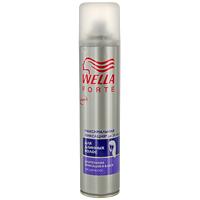 Лак для длинных волос Wella Forte, максимальная фиксация, 250 млWF-81155207Лак для волос Wella Forte максимальной фиксации придает длительную фиксацию в течение дня. Идеально подходит для длинных волос. Обеспечивает контроль над непослушными волосами и придает блеск. Помогает защитить волосы от действия УФ-лучей.Характеристики: Объем: 250 мл. Производитель: Франция.Товар сертифицирован.