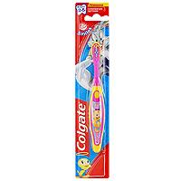 Зубная щетка детcкая Colgate Smiles, от 2 до 5 лет, супермягкая, цвет: розовый colgate зубная щетка barbie smiles детская с мягкой щетиной от 5 лет цвет розовый фиолетовый