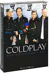 Coldplay: DVD Collector's Box (2 DVD) моана dvd