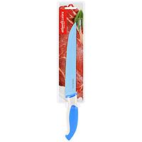Нож для нарезки Atlantis 20см L-8S-BL-8S-BНож кухонный Atlantis высшего качества предназначен для профессионального и домашнего использования, для нарезки продуктов.Очень удобная и эргономичная ручка не позволит выскользнуть ножу из вашей руки. Особенности ножа Atlantis: японская высокоуглеродистая нержавеющая стальпрочный и острый клинокбезопасное и прочное покрытие лезвия не дающее пище прилипать к ножукрасивое сочетание цветов ручки и лезвия. Характеристики: Материал: нержавеющая сталь, пластик. Длина лезвия: 20 см. Длина общая: 33,5 см. Производитель: Китай. Артикул: L-8S-B.