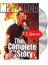 Metallica: The Complete Story (2 DVD) pantera pantera reinventing hell the best of pantera cd dvd